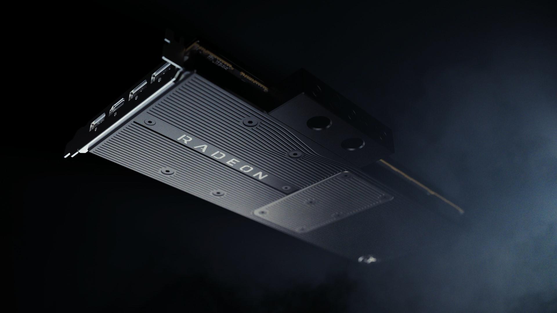 EK Teases its Premium Full-coverage Water Block for AMD Navi