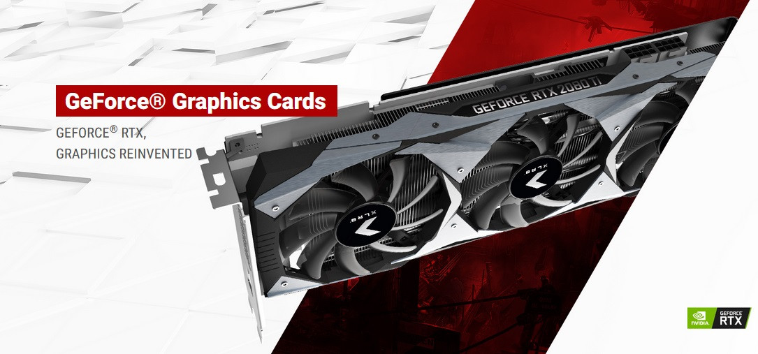 PNY Reveals Their RTX 20-Series Lineup of Partner Graphics Cards