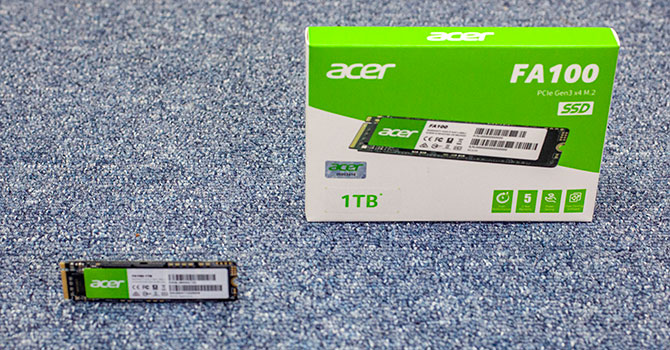 Acer FA100 1 TB Review