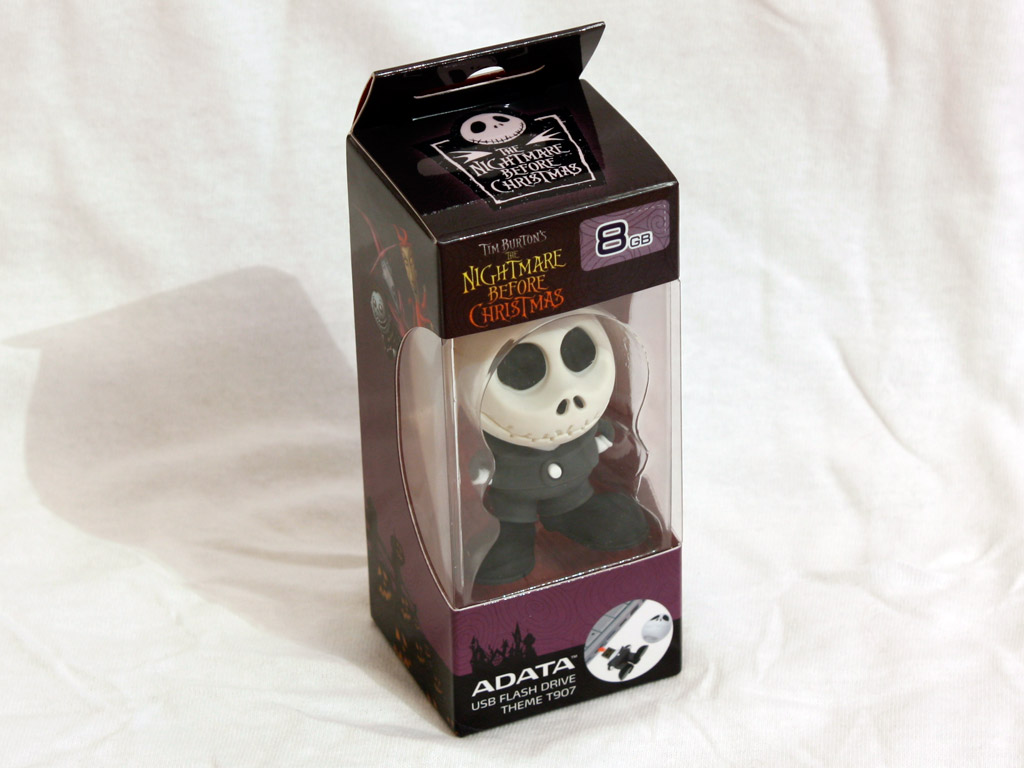 Data T907 Jack Skellington 8GB Flash Drive Review | techPowerUp