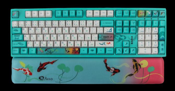 Akko 3108v2 Monet's Pond Review – Fishing for Luck