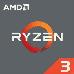 AMD Ryzen 3 1200 3.1 GHz