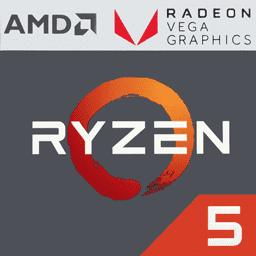 AMD Ryzen 5 2400G 3.6 GHz with Vega 11 Graphics