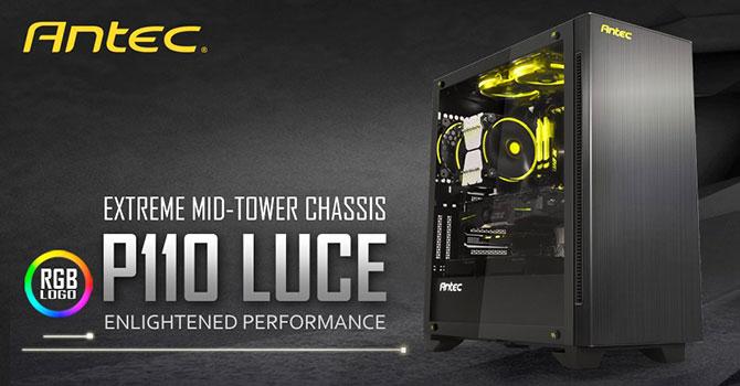 Antec P110 Luce Review Techpowerup