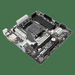 ASRock AB350M Pro4 Review