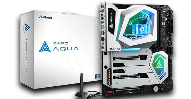 ASRock Z490 AQUA Review