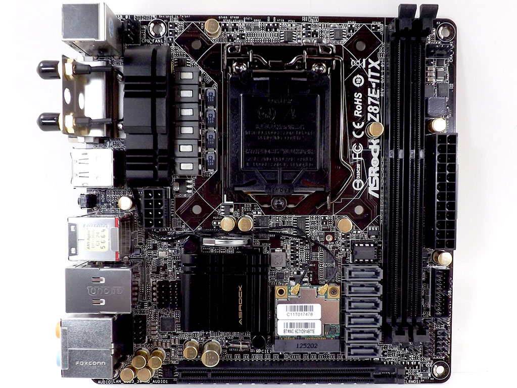 Review] techpowerup : ASRock Z87E-ITX (Intel LGA 1150)