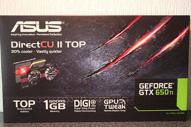 Обзор и тест ASUS GeForce GTX 650 Ti DirectCU II TOP