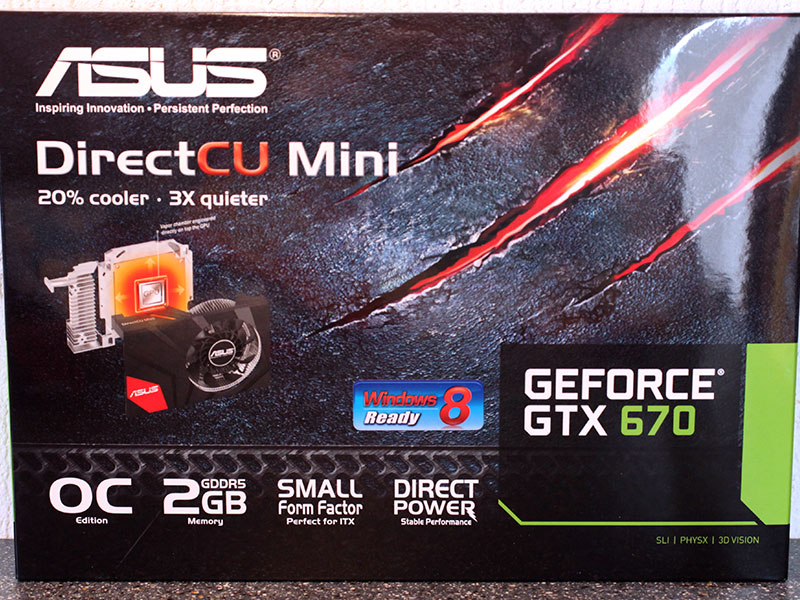 Обзор и тест ASUS GeForce GTX 670 DirectCU Mini OC