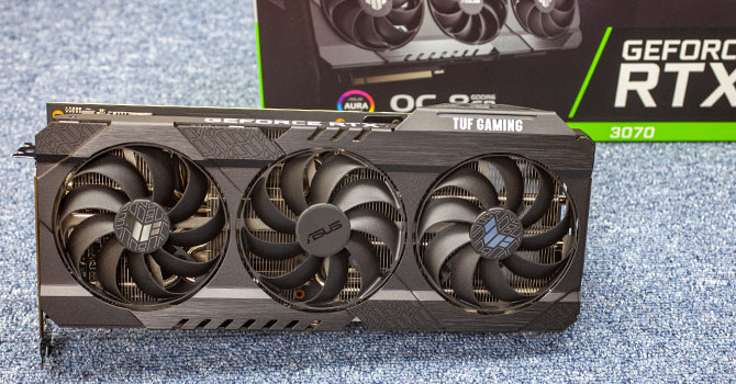 ASUS GeForce RTX 3070 TUF Gaming OC Review