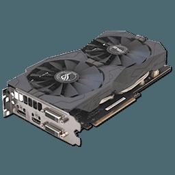 ASUS GTX 1050 Ti STRIX OC 4 GB