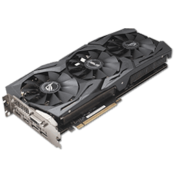 ASUS GTX 1080 Strix Gaming 8 GB