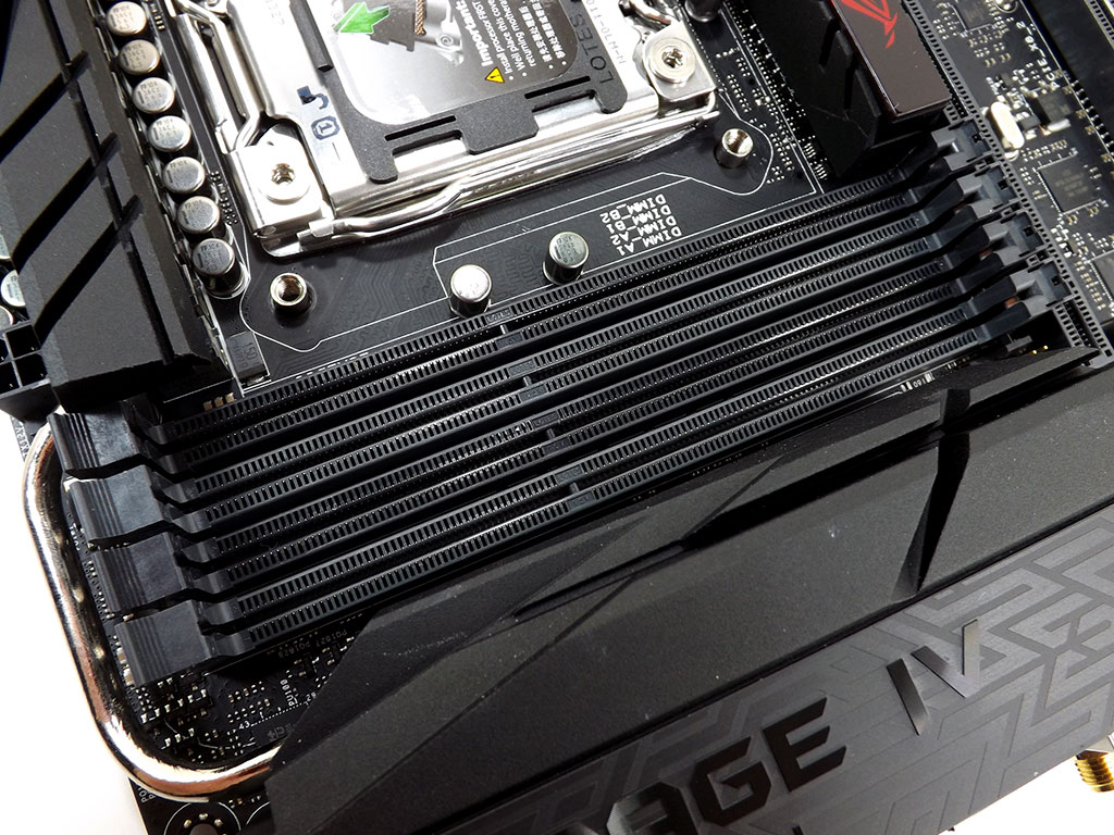asus rampage iv black edition ram compatibility