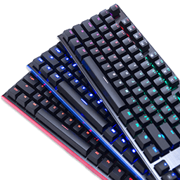 AZiO MGK L80 Red, Blue and RGB Keyboards