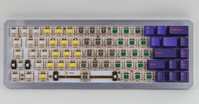 Building a Keyboard: Epomaker GK68XS, Akko Keycaps, Gateron Switches