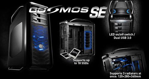 Cooler Master Cosmos Se Review Techpowerup