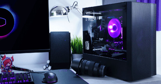 Cooler Master Masterbox Nr400 Review Techpowerup
