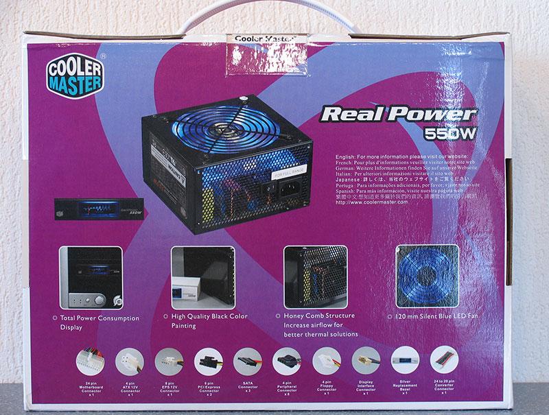 cooler master realpower 550 watt: