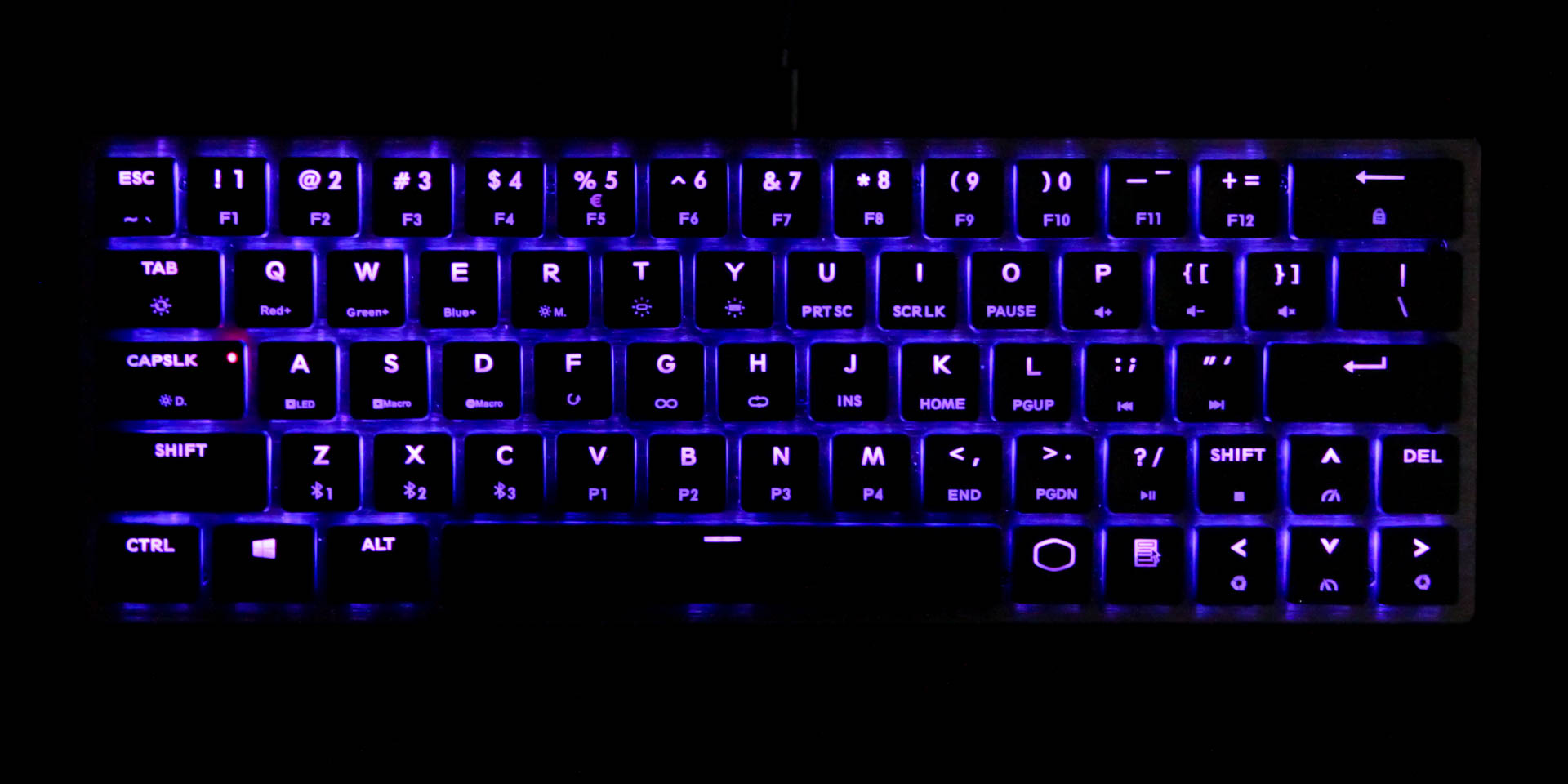 Cooler Master Sk621 Keyboard Review Techpowerup