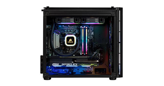 PC Gaming Cập Bến -Giá Tốt ACE Đam Mê Gaming With GeForce RTX 2080 Mới Nhất   Corsair Vengeanc