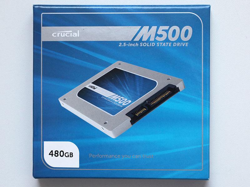 Тест SSD Crucial M500 480ГБ