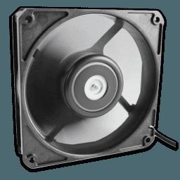 DarkSide Gentle Typhoon 1450 RPM Black Edition Fan