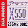 Diamond Stealth X550