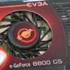 EVGA e-GeForce 8800 GS 384 MB