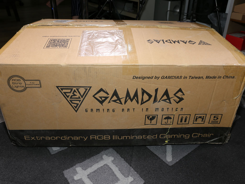 Gamdias Achilles Rgb Gaming Chair