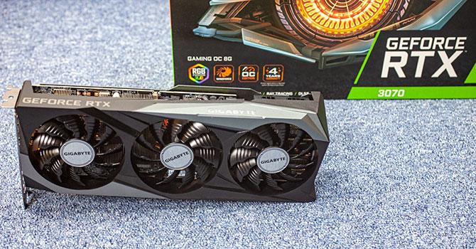 Gigabyte GeForce RTX 3070 Gaming OC Review