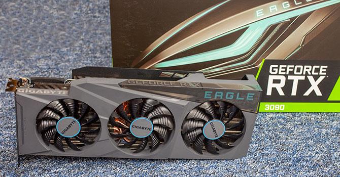 Gigabyte GeForce RTX 3090 Eagle OC Review