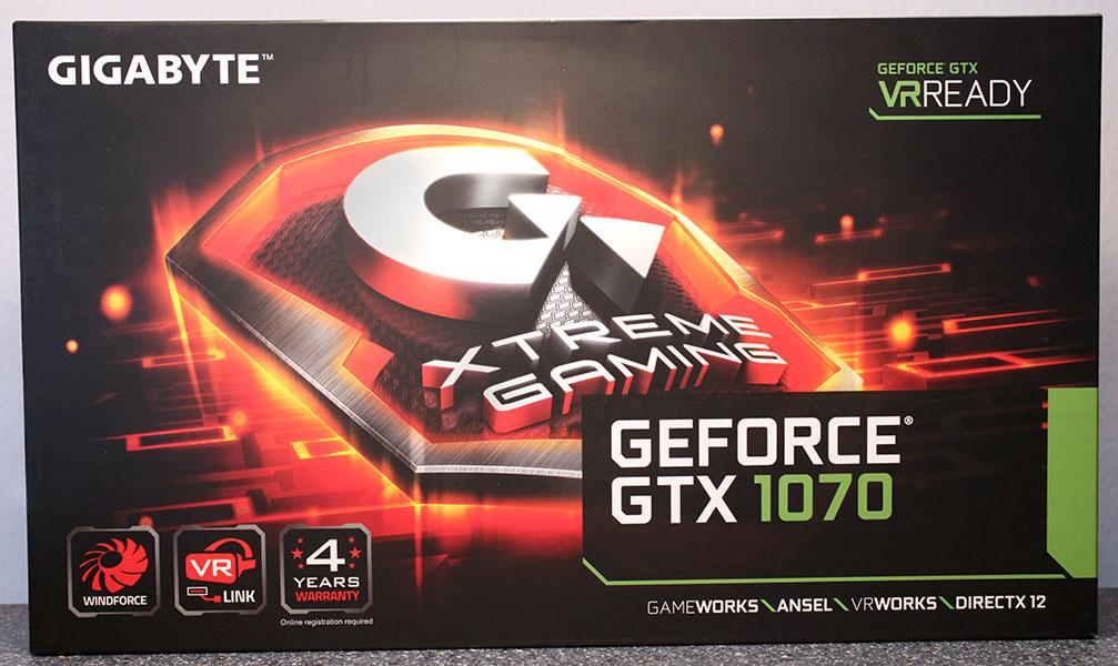 gigabyte gtx 1070 xtreme gaming review