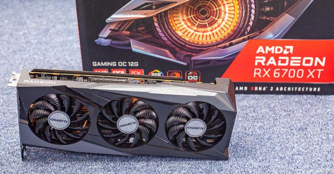 Gigabyte Radeon RX 6700 XT Gaming OC Review