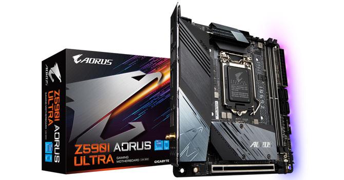 Gigabyte Z590I AORUS Ultra Review