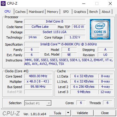 Intel Core i5-8600K 3.6 GHz Review | TechPowerUp
