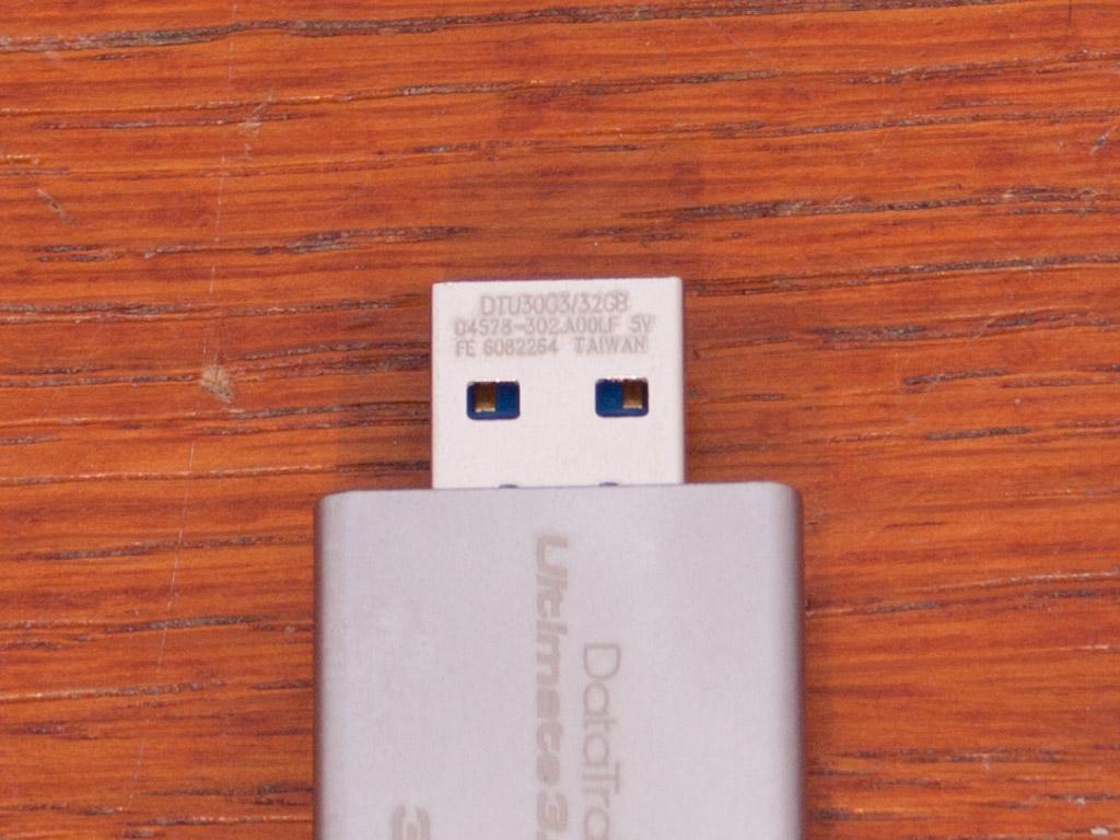 Обзор и тест флешки Kingston DataTraveler Ultimate 3.0 G3 32ГБ