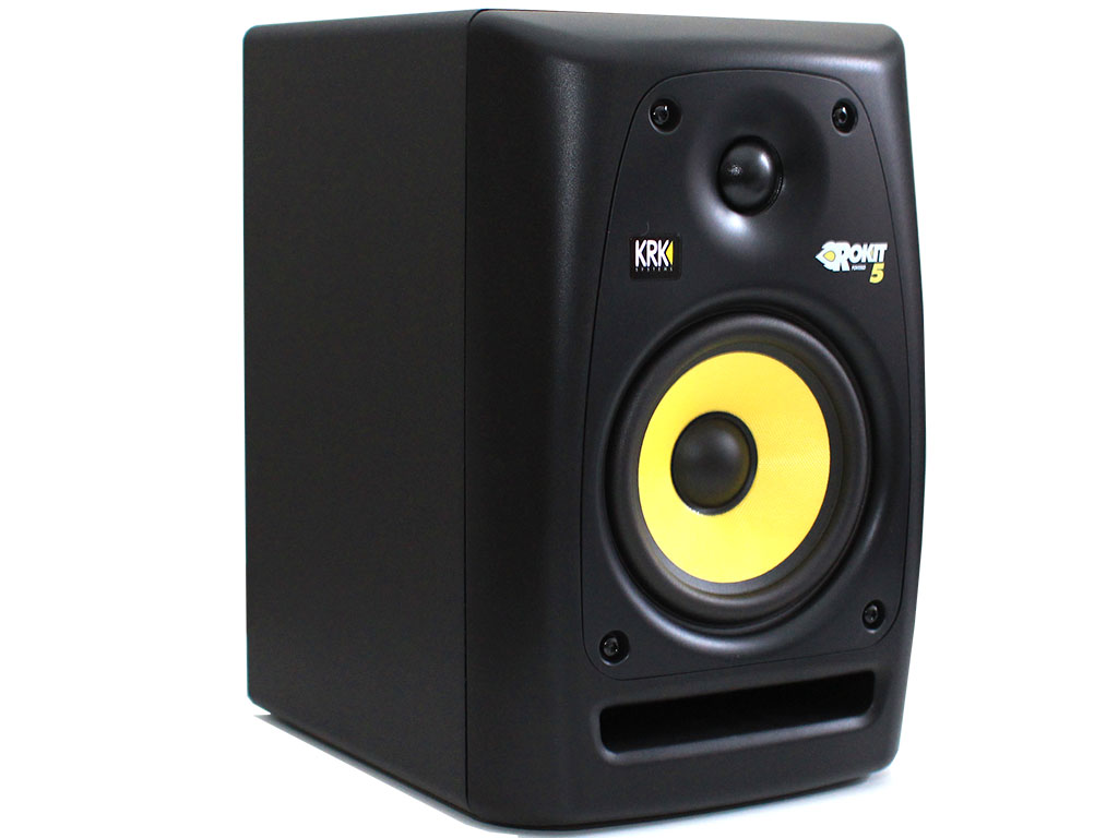Krk Systems Rokit 5 Active Speakers Review Techpowerup