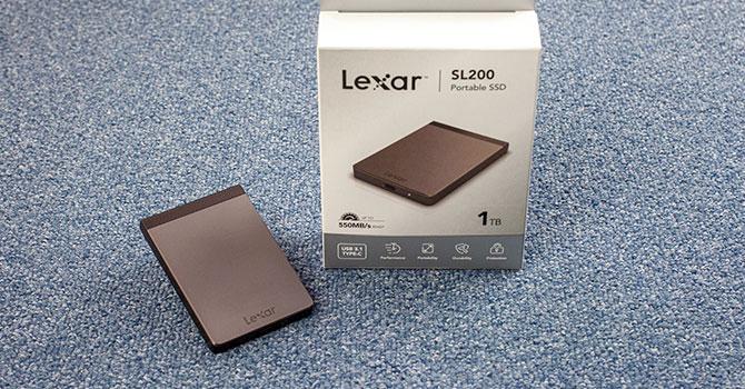 Lexar SL200 Portable SSD 1 TB Review