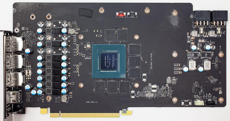 3060Ti Gaming X Trio PCB