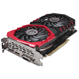 MSI GTX 1050 Gaming X 2 GB
