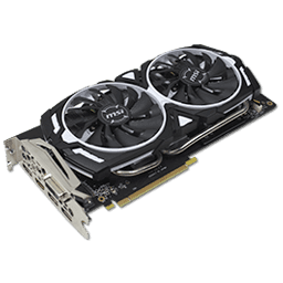 MSI GeForce GTX 1060 Armor OC 6 GB Review