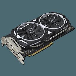 MSI GeForce GTX 1060 Armor OC 6 GB