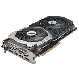 MSI GeForce GTX 1070 Quick Silver OC 8 GB