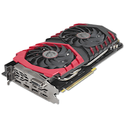 MSI GTX 1080 Gaming X Plus 11 Gbps 8 GB