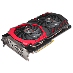 MSI GTX 1080 Gaming X 8 GB
