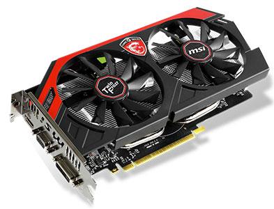 (N750Ti FROZR Video GTX 2GB Ti TWIN Card - 750 ... MSI TF GeForce