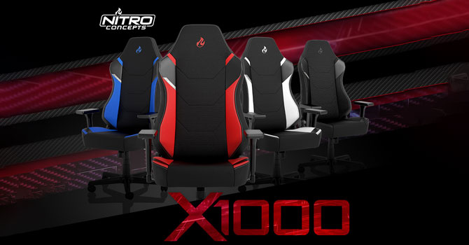 Nitro Concepts X1000 Gaming Chair Review – Affordable and Very Comfortable