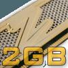 OCZ EL DDR PC-3200 2GB Gold GX XTC