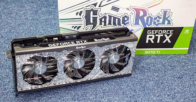Palit GeForce RTX 3070 Ti GameRock OC Review