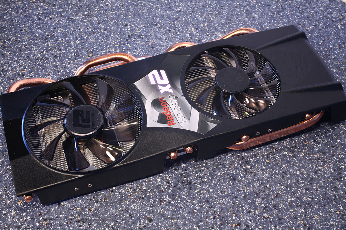 Обзор PowerColor Radeon HD 6870 X2